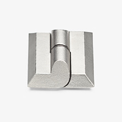 Flexible and robust in any application and each field of use – the lift-off stainless steel hinge for nested doors