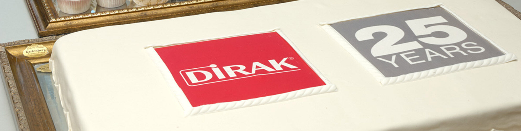 Visit our website www.dirak.com and explore 25 years sustainable development!