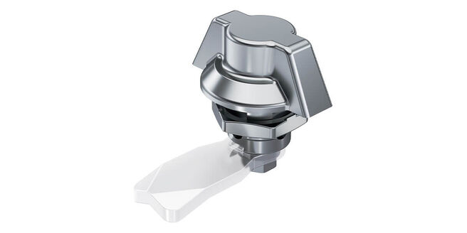 New: Quarter-Turn with Wing Knob. Stainless Steel