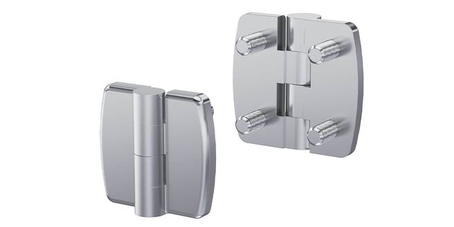 New Product- 180 ° Hinge Pr01 With Stainless Steel Studs